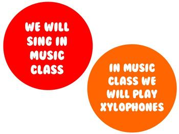 WelGUM to Music Bulletin Board for Music Class