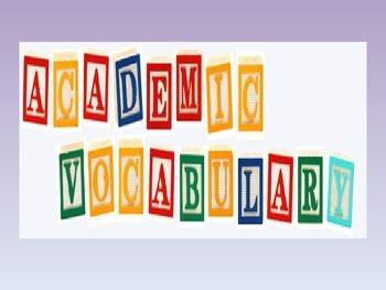LAFS ACADEMIC LANGUAGE WORD WALL-Narrator's or Speaker's P