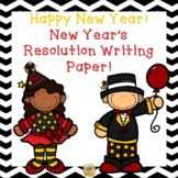 New Years! Welcome in the NEW YEAR!  New Year Themed Writing Paper K-5
