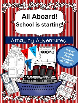 Welcome Aboard to a New School Year