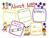 Welcome All About Me Poster