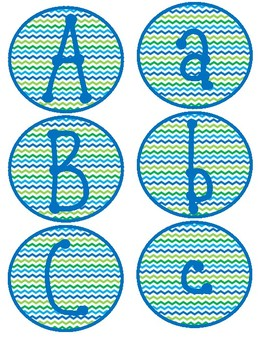 Welcome, Alphabets, and Numbers Signs Set 1