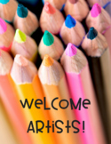 Welcome Aritsts Poster