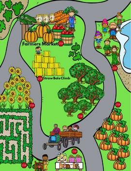 Kindergarten - Sp.Ed.- Halloween -Pumpkin Patch Math, Science, & Literacy