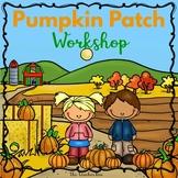 Kindergarten - Sp.Ed.- Halloween -Pumpkin Patch Workshop