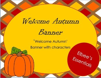 Welcome Autumn Banner