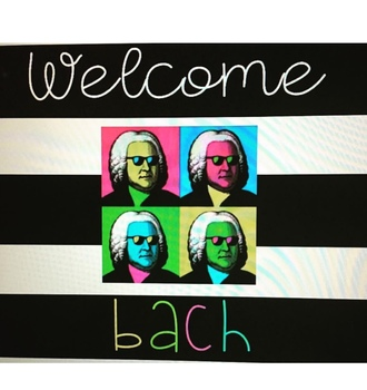 Image result for welcome BACH