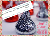 Welcome Back to School Gift for Teachers & Students {Hershey Kiss Tags}
