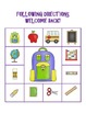 Welcome Back! A Speech/Language Theme Pack