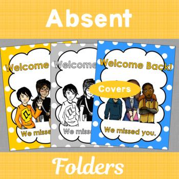 Welcome Back Absence Folder for Make Up Work