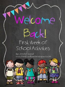 Welcome Back Activities Pack