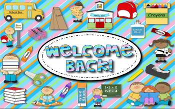 Welcome Back! Activity