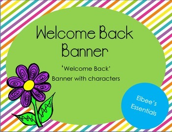 Welcome Back Banner 1