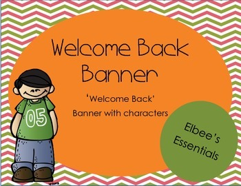 Welcome Back Banner 2