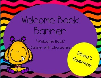 Welcome Back Banner 3