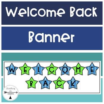 Back To School: Welcome Back Banner
