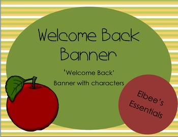 Welcome Back Banner 4