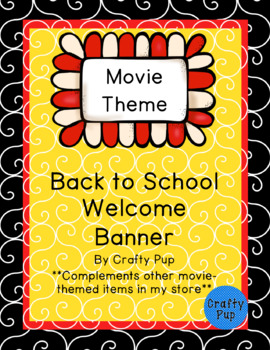 Welcome Back Banner Movie-Theme