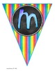 Welcome Back Banner - Rainbow colors & Chalkboards