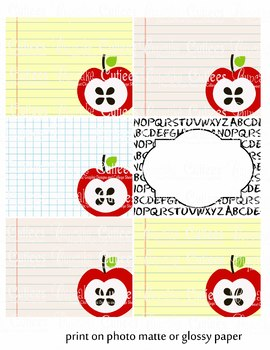Welcome Back Blank and Wording Large Favor tags - Digital Fun Printable