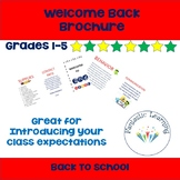 Welcome Back Brochure