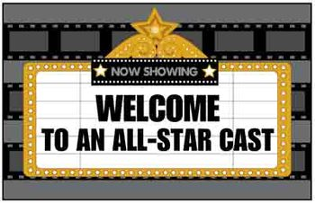 Welcome Back Bulletin Board Display - Movie Theme
