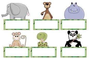 Welcome Back Bulletin Board Display - Safari/Jungle Theme