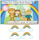 Welcome Back Bulletin Board Display - Wizard of Oz Theme