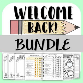 Welcome Back Bundle!