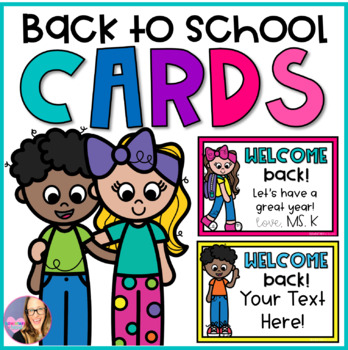 Strange Back To School Welcome Back Editable Cards By Elementary At Heart Funny Birthday Cards Online Fluifree Goldxyz