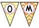 """Welcome Back!"" Chevron-Patterned Banner"