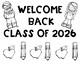 """Welcome Back """"Class of"""" Signs Nautical Theme PK- 5th Grade Options"""