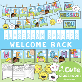 Welcome Back Classroom Banner Set
