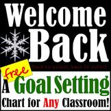 Welcome Back Goal Setting Activity! *FREEBIE*