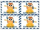 Welcome Back Kayak Owl