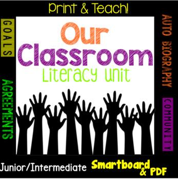 Back to School Literacy Unit, TRIBES, Autobiography/Biogra