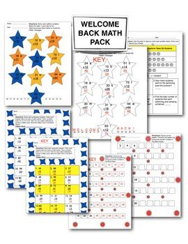 Welcome Back Math