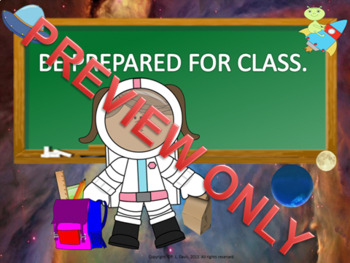 Welcome Back to School Outer Space Style