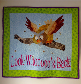 Welcome Back Owl Quilt