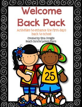 Welcome Back Pack