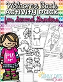 Welcome Back Pack for Second Grade