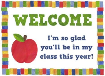 Free Welcome Back Postcards
