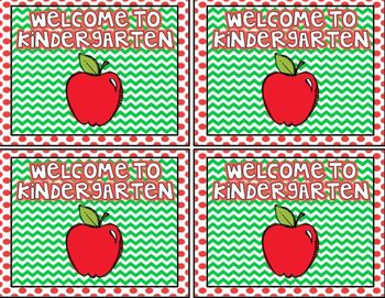 Welcome Back {Postcards For Your Students}