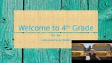 Welcome Back PowerPoint {Rustic}