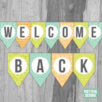 Welcome Back Printable Banner