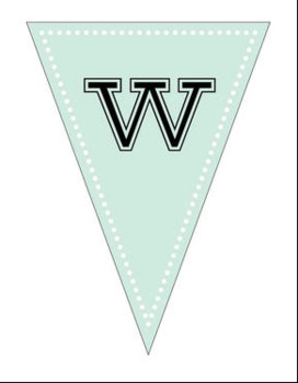 image about Banner Printable titled Welcome Again Printable Banner - Bunting Banner Style and design