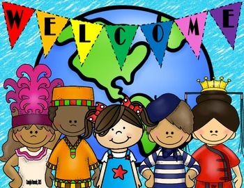 Welcome Sign (Children of the World)