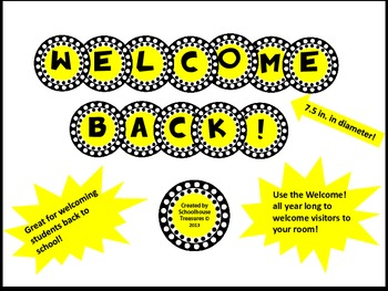Welcome Back! Sign in Yellow