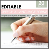 Editable Welcome Back Speech Bundle-Parent Newsletter/Contact Information & MORE