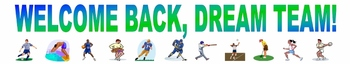 Welcome Back Sports Banner